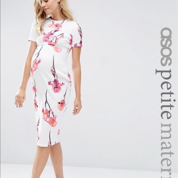 choose genuine professional 100% satisfaction guarantee ASOS maternity dress. Petite NWT